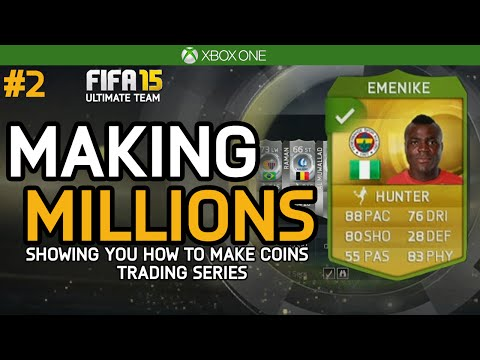 FIFA 15 | MAKING MILLIONS – AWESOME GOLD METHOD! | Episode #2 – (Ultimate Team Trading Series)