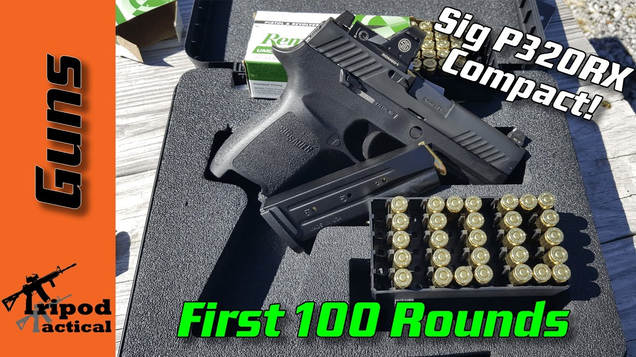 Sig Sauer P320RX Compact (P320C RX) Thoughts after first 100 rounds