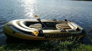 FISHMAN 300 SET Обзор надувной лодки ПВХ!!!
