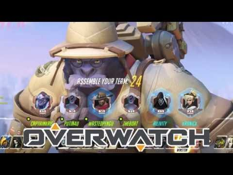 Overwatch! w/ Friends High Skill; Control Point! Domination! Winston!, and others