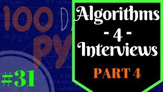 Programming Job Interview Questions - Python