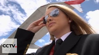 Female pilot becomes youngest captain of Colombian airline