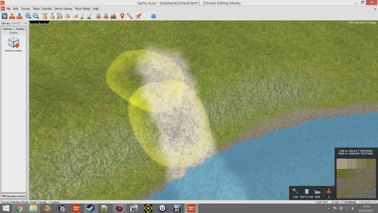 Terrain Path Painting