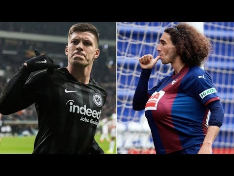 Barcelona News Round-up ft Luka Jovic & Marc Cucurella