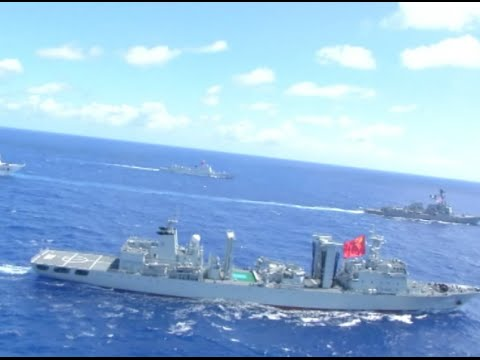 Chinese Fleet Returns from RIMPAC 2016 Drill