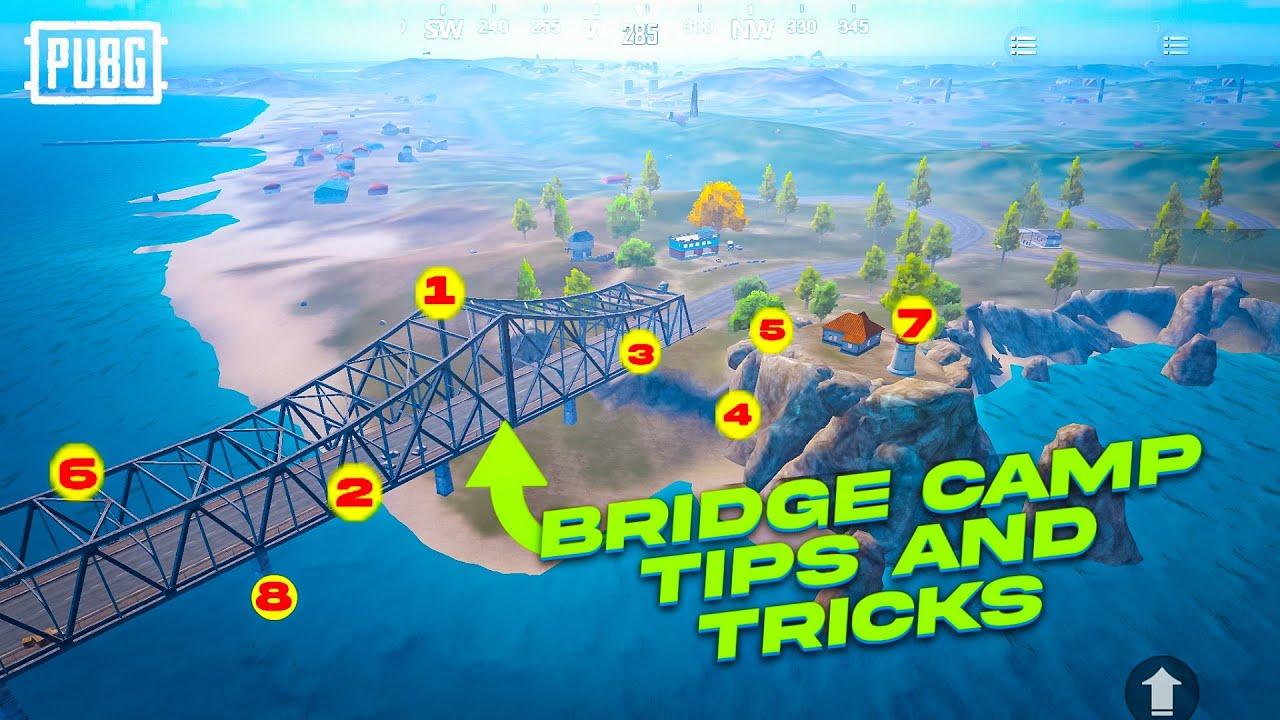 Download 😜Best Tips and Tricks for BRIDGE | tips for bridge camp vs bridge block | PUBG MOBILE