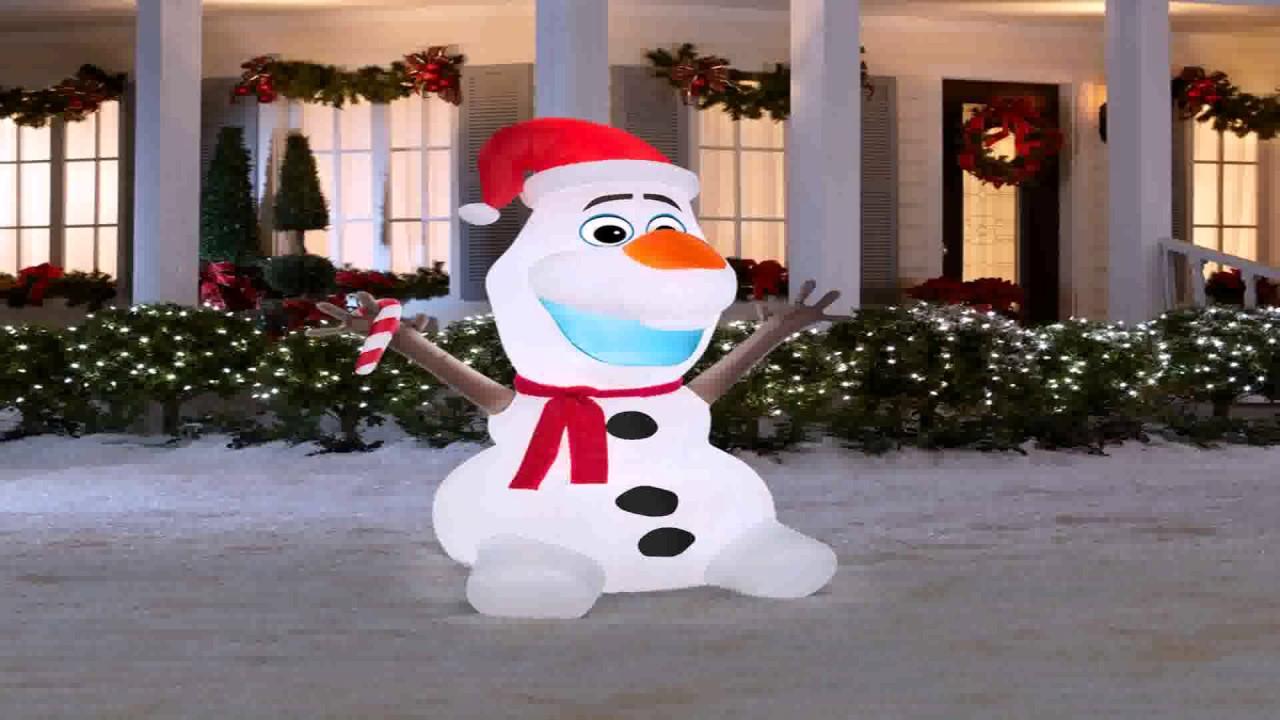 diy outdoor snowman decoration