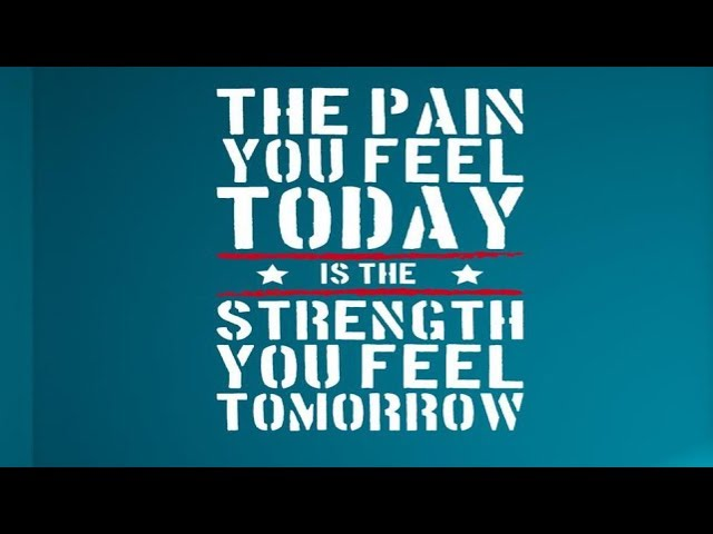 The Pain You Feel Today is the Strength You Feel Tomorrow - Pastor Chris Sowards - 9/29/19 AM
