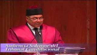 Tribunal Constitucional RD - Resumen Actividades 01 2017 Video