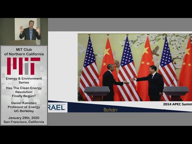 Has the Clean Energy Revolution Finally Begun? - Professor Dan Kammen, UC Berkeley