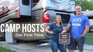 Camp Host - Our First Time - Work Camping - Full Time RV