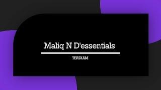 Maliq N D'essentials - Terdiam   Lyrics