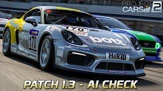 Update 1.3 - AI Check | Project CARS 2 German Gameplay [HD] Porsche GT4 CS @ Donington Park
