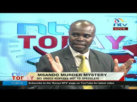 A security expert's perspective on Chris Msando's death and how police handled it