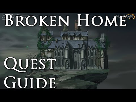 RSQuest: Broken Home Quest Guide [Runescape RS3]