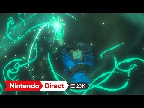 ゼルダの伝説 ブレス オブ ザ ワイルド 続編:E3 2019 出展映像