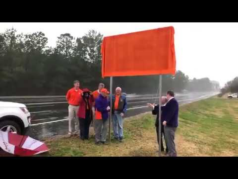 2018 Clemson National Championship sign unveiled