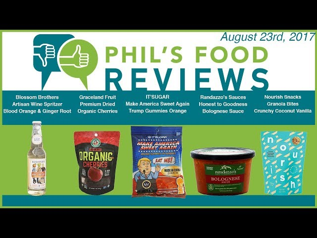 Phils Food Reviews August 23rd, 2017