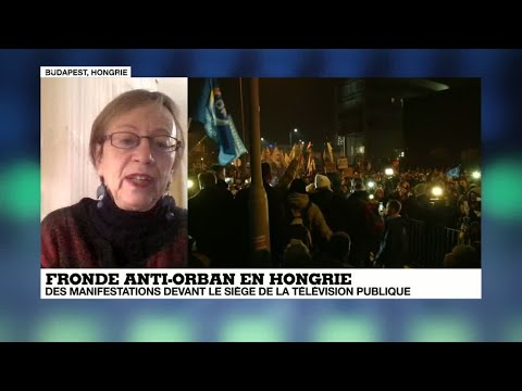 En Hongrie, la télévision publique concentre la grogne anti-Orban