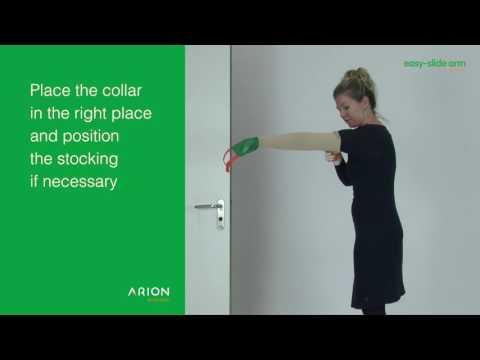 Arion Easy Slide Arm Compression Bandage Application Aid 2