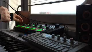 Test Tech-Trance (sainttowski)arturia keylab,OP-1 Teenage Engineering,GO Mixer,Boss RC-505