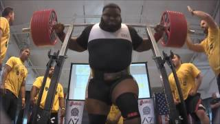 Ray Williams, 1005 lb Raw Squat, USAPL, 2016