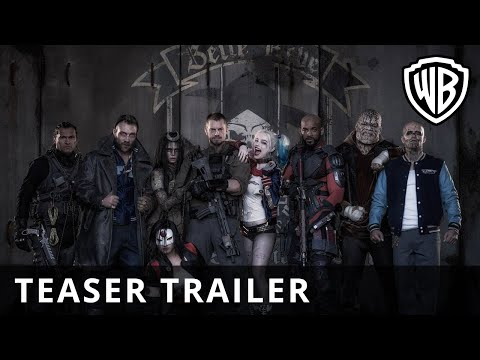 Suicide Squad - Comic-Con First Look - Official Warner Bros. UK