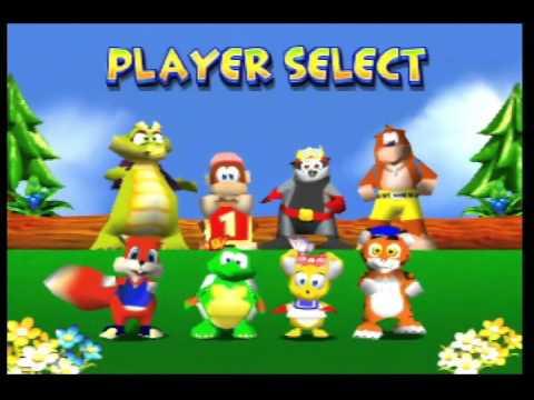 Diddy Kong Racing Hacks - YouTube