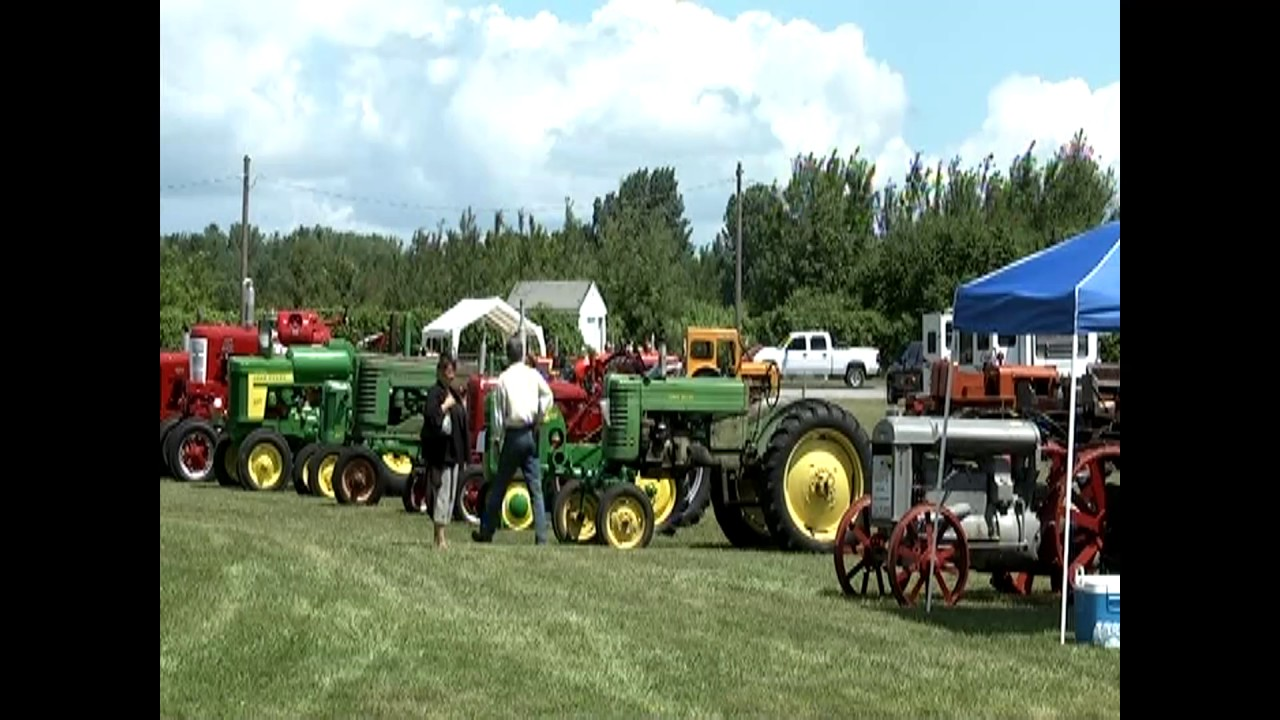 Antique Tractor Show  7-9-11