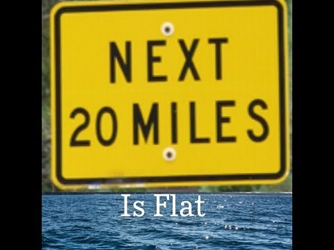 20 miles of Flat Water Proving Earth is NOT a Blue Marble thumbnail