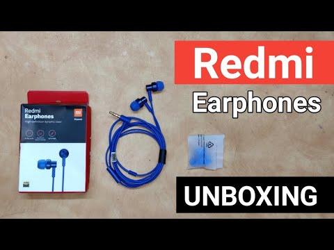 Redmi earphones unboxing in Telugu