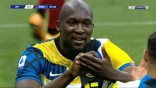 ملخص مباراة إنتر وروما | إنتر 3 روما 1 | إنتر البطل يواصل احتفالاته ويهزم روما