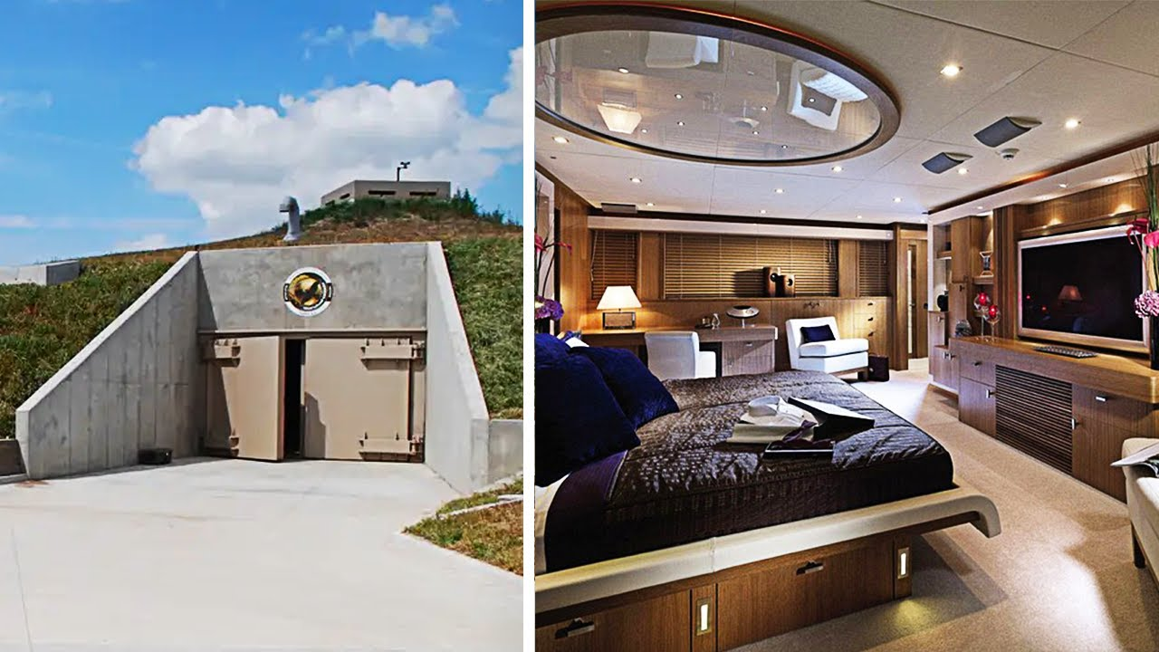The Most Expensive Underground Bunkers Youtube