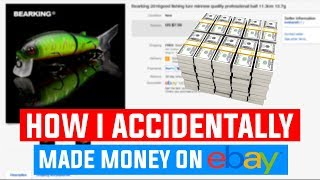 WHAT! How I Accidentally Made Money On Ebay! Easiest Money Ever!