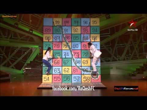 RaQesh Ridhi perform on Jame Raho 1st Dec'13 - Nach Baliye 6