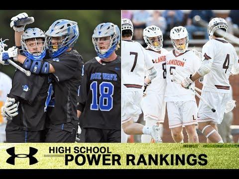 Under Armour/Inside Lacrosse High School Power Rankings: No. 1 Darien (Conn.) & Landon (Md.)
