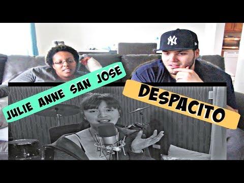 DESPACITO COVER   JULIE ANNE SAN JOSE REACTION!!!
