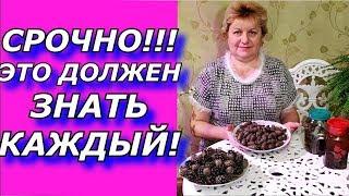 СОСНОВЫЕ ШИШКИ ! Инсульт. Профилактика!!!ФАНТАСТИЧЕСКИЙ РЕЦЕПТ - ВСЕГДА ПОД РУКОЙ!!!.