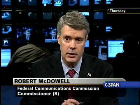 The Communicators: FCC Commissioner Robert McDowell