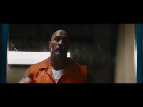 Prison riot 1|The Fate of Furious|Escaping of Deckard Shaw & Hobbs
