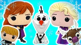 Frozen2 Funco Unboxing! Gather Elsa and Anna's Friends! | PinkyPopTOY