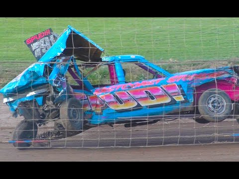 KINGY MEMORIAL WEEKENDER Mildenhall Pre 70 & Pre 90 Unlimited Banger Racing 2018