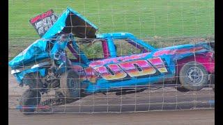 KINGY MEMORIAL WEEKENDER Mildenhall Pre 70 & Pre 90 Unlimited Banger Racing 2018 thumbnail
