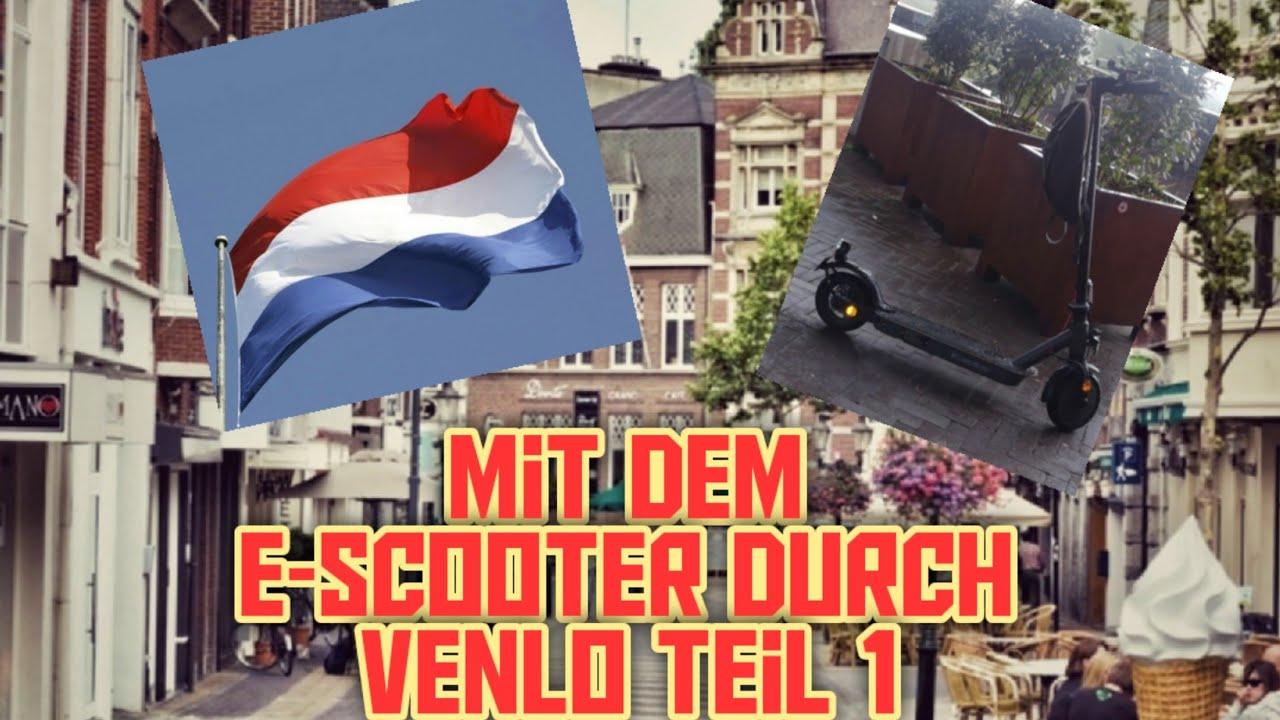 Venlo mit dem  E-Scooter durch die Stadt Teil 1