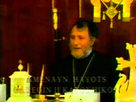 VARDANANK by Vardan Hovanessian N158- H.H.Garegin II,Catholicos of all Armenians./2002/