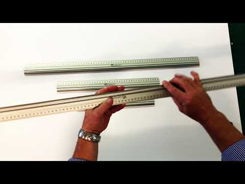 GraphicPro Aluminum Cutting Rulers
