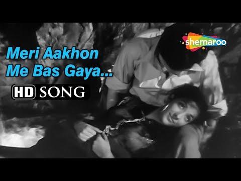 Meri Aankhon Mein Bas Gaya Koi | Barsaat (1949) Nargis | Raj Kapoor | Romantic Hindi Classic  Songs
