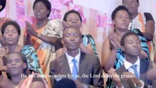 shimwa by messagers choir adepr gisenyi