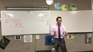 Walkthrough of Conical Pendulum Question (1 of 2: Working out the path)