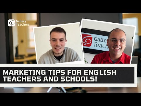 Marketing Tips For English Teachers and Schools! - Expert Advice from Ben Phillips of Digivate